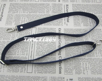 Deep Blue Adjustable Cross Body Webbing Strap for Purse Bag
