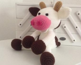 baby cow crochet pattern