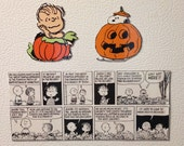 Peanuts Magnets, Halloween, Great Pumpkin, Linus, Halloween Magnets, 3 Piece Set, Peanuts Comic Strip, Woodstock, Charlie Brown, Comics