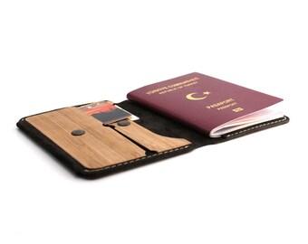 WOL Blake Travel Wallet / Passport Case