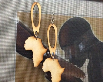Chandelier African Earrings