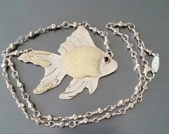 The Goldfish Necklace