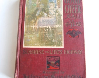 Antique Book, Good Cheer for All the Year