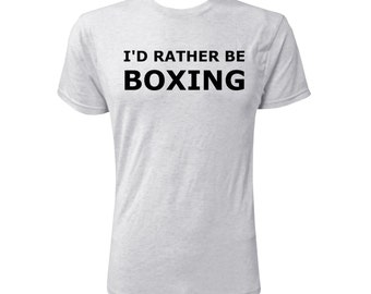 I'd Rather Be Boxing - NLA Heather White