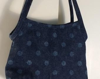 Little denim purse