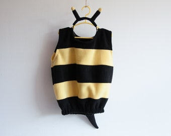Bumble Bee Costume, Toddlers Halloween Costume, Party Costume, For Boys or Girls, Toddler Bee Costume, Bumblebee