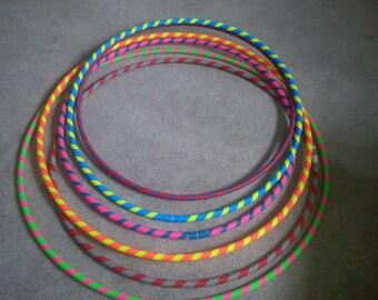 Gaffer Spiral Series Taped Practice Hoop by Colorado Hula Hoops