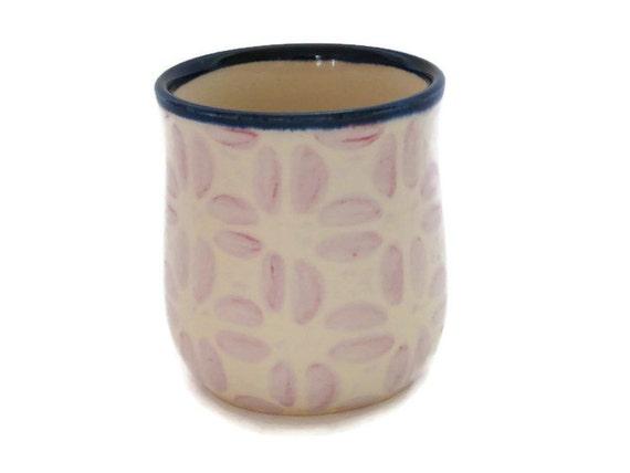 Coffee mug handleless off white cylinder subtle - Handleless coffee mugs ...