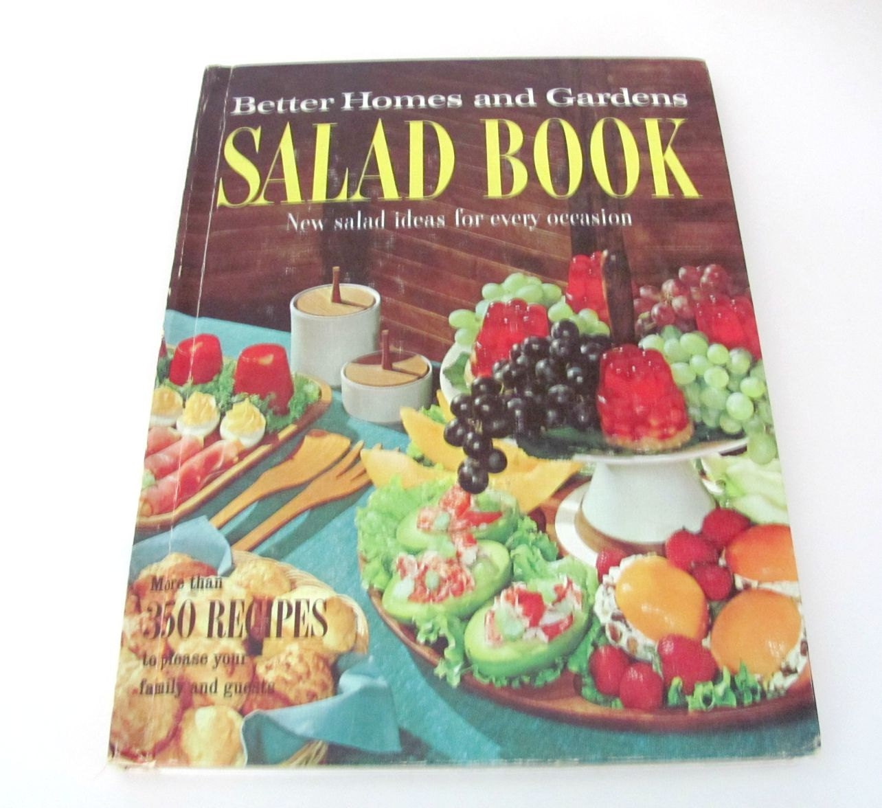Vintage cookbook 1950 39 s better homes and gardens salad - Vintage better homes and gardens cookbook ...