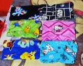 5 inch zipper character Bags