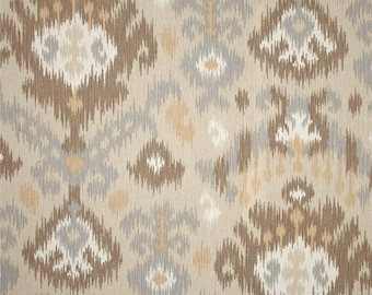 Blurred Lines Dusk cotton fabric by the yard ikat Magnolia Home Fashions