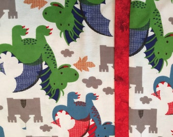SALE: Dragons and Castle Pillowcases