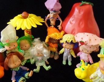 SALE!!  Vintage Strawberry Shortcake dolls, figures, and playsets
