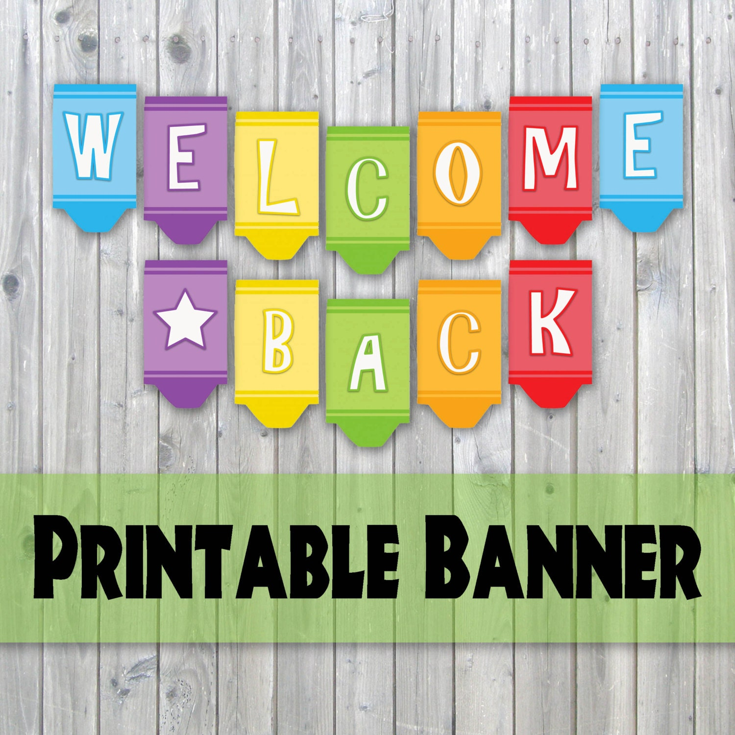 Handy image within welcome banner printable