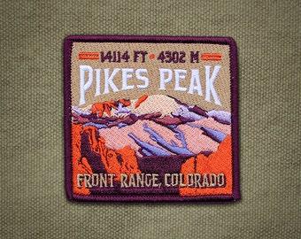 Pikes Peak Colorado 14er Patch