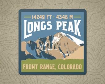 Longs Peak Decal Sticker