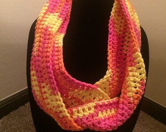 Cotton Candy Infinity Scarf
