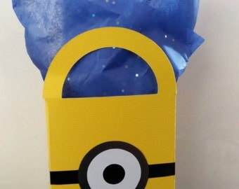 Minions Party Favor Boxes, Set of 10