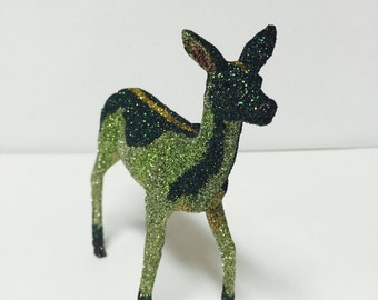 Glitter Forrest Deer Figurine