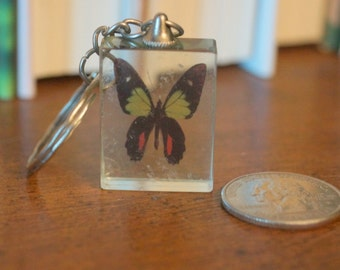 Vintage Butterfly Key Chain