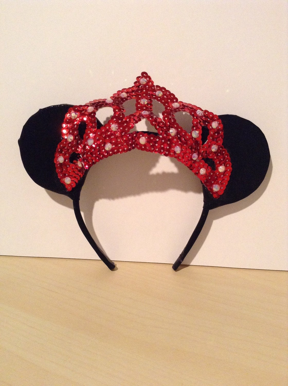 Minnie princess ears - Princesse minnie ...