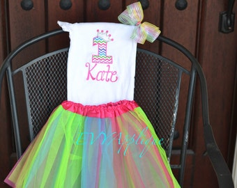 Rainbow birthday Outfit, rainbow birthday tutu, rainbow princess outfit, rainbow birthday shirt, rainbow 1st, 2nd, 3rd, 4th, 5th birthday