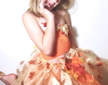 Autumn Leaves Tutu-Ready2Ship Perfect for: Pageant, Outfit of Choice Special occasion, photo shoot, dress-up play