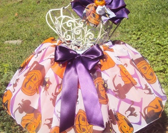 Black Cats & Pumpkins Tutu Ready2Ship,  Perfect for Halloween photo shoot, pageant wear, OOC,