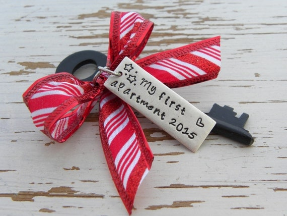 My first apartment 2016 skeleton key by whisperingmetalworks for First apartment ornament