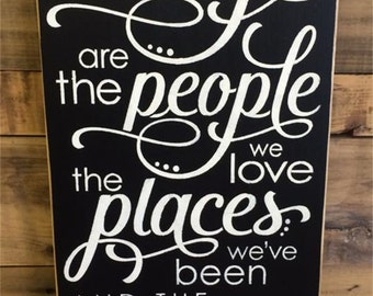The Best Things In Life - Pine Wood Sign | Country | Primitive | Rustic |