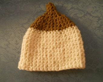 Pro-Breastfeeding Handmade Crocheted Boobie Beanie For Baby Newborn