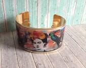Frida Kahlo Cuff Bracelet