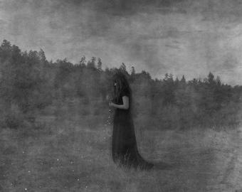 Raw.. original conceptual fine art photograph. photo art contemporary art. surreal modern art, woman girl photo print, dark art, abstract