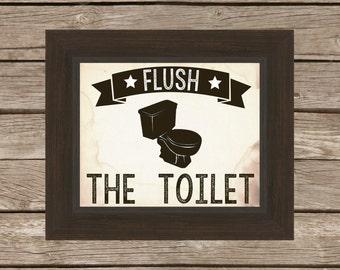 bathroom artwork. Vintage Rustic Bathroom Artwork  digital download artwork Etsy