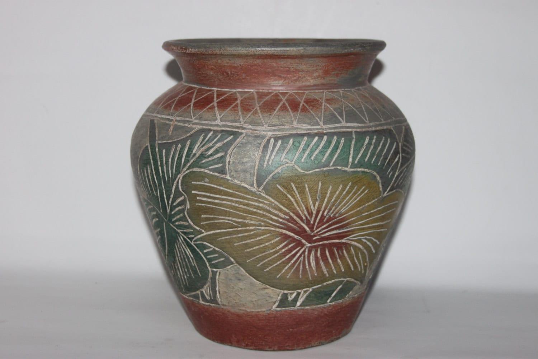 Large Jardiniere Planter Decorative Earthenware Ceramic