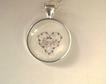 Wreath with Love Necklace