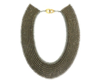 Chainmaille/Chainmail Collar Necklace - Cleo