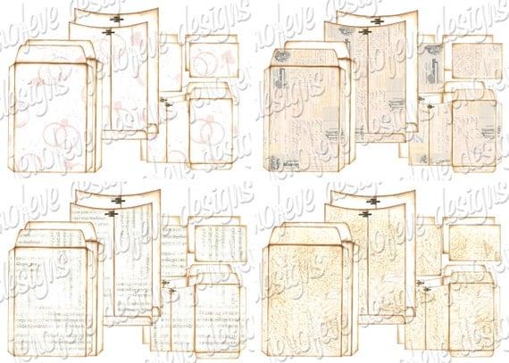 bundle 6x9 printable envelope templates all 7 by jenofevedesigns. Black Bedroom Furniture Sets. Home Design Ideas