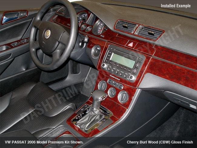 Vw volkswagen passat 2006 2010 new interior set wood grain - 2006 volkswagen passat interior parts ...
