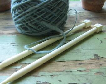 BrySpun knitting needles, 10 inch single point, sizes 11 - 19