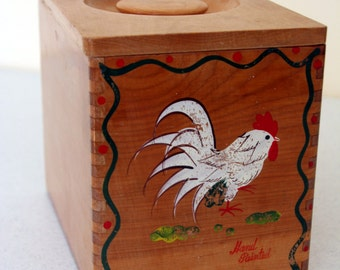 Kitchen Cannister Wood Cover