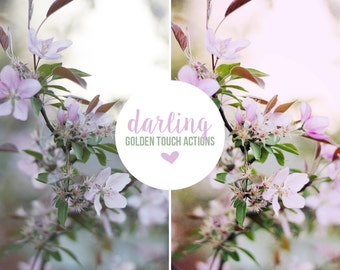 "Photoshop Action ""Darling"" - INSTANT DOWNLOAD"