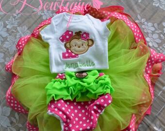 Monkey Birthday Outfit