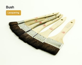 Lacquering Brush LeatherMob Leathercraft Craft Tool Dye Painting