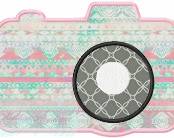 Camera Applique Design Buy2 Get1 FREE