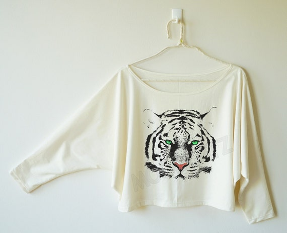 Cute Tiger shirt eyes tiger tee funny animal shirt by MoodCatz Cute Siberian Tiger Shirt