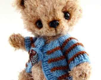 PDF step by step crocheting guide to make BARRY the teddy bear