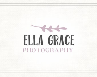 Website Logo, Simple Logo, Premade Photography Watermark, Logo Design, Business Logo, Branding Logo, Blogger Logo, Blog Logo, L060