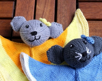 Squirrel knitting pattern pdf for beginners and advanced mouse lovey knitting pattern pdf baby toy diy gift and decoration gift for kids negle Image collections