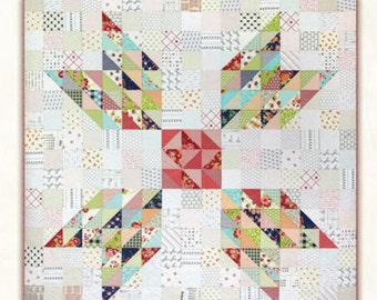 Miss Rosie's Schnibbles GERTIE RQC 482 68x68 Quilt Pattern